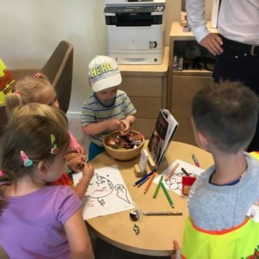 Przedszkolacy edukują się z Nest Bankiem